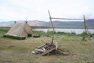 Gásir - Campground at Gásir Iceland