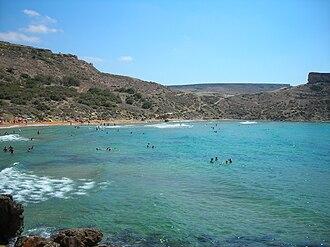 Għajn Tuffieħa - Għajn Tuffieħa Bay