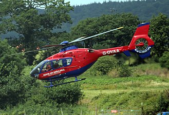 Air ambulances in the United Kingdom - G-DVAA