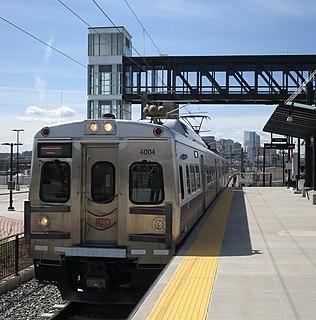 G Line (RTD) rail line in Denver