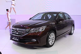 GAC Honda 9th Accord China Specification For 2013 Guangzhou Auto Show.JPG