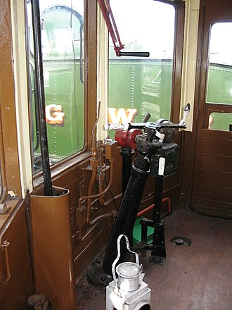 GWR Autocoach - Image: GWR coach A38 225 driving compartment