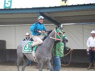 G. R. Carter American jockey