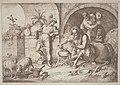 Gaetano Zompini, after Giovanni Benedetto Castiglione, Chiron Teaches Magic to Achilles, 1758-1759, NGA 144588.jpg