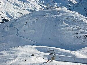 Galzig (St. Anton am Arlberg, Tyrol, Austria),...