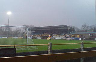 Gander Green Lane Football stadium in Sutton, south London