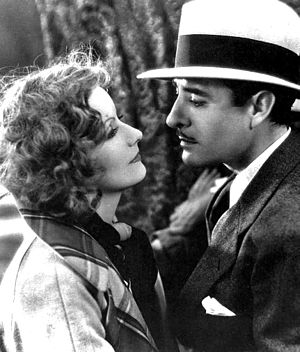 John Gilbert (actor) - Gilbert with Greta Garbo in A Woman of Affairs (1929)