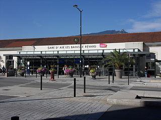 Aix-les-Bains-Le Revard station