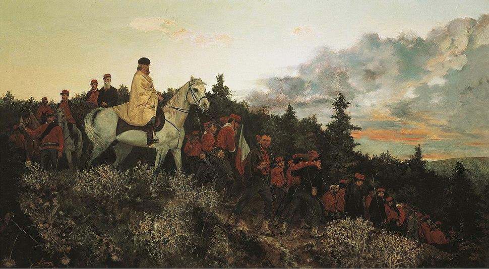 Garibaldi at Mentana, 3rd November 1867