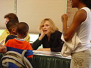 At the Dallas Comic Con, 2006.Photo by Corey Bond.