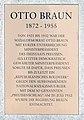 Gedenktafel Otto-Braun-Platz (Potsdam) Otto Braun.jpg