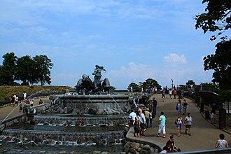 Gefion Fountain - The Gefion fountain