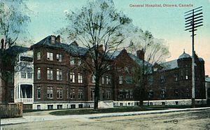 Wallis House - The General Hospital, circa 1920