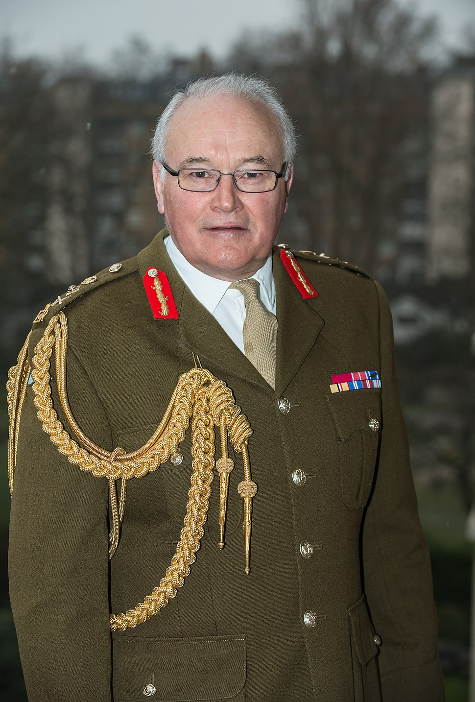 General Sir Peter Wall, Chief of the General Staff