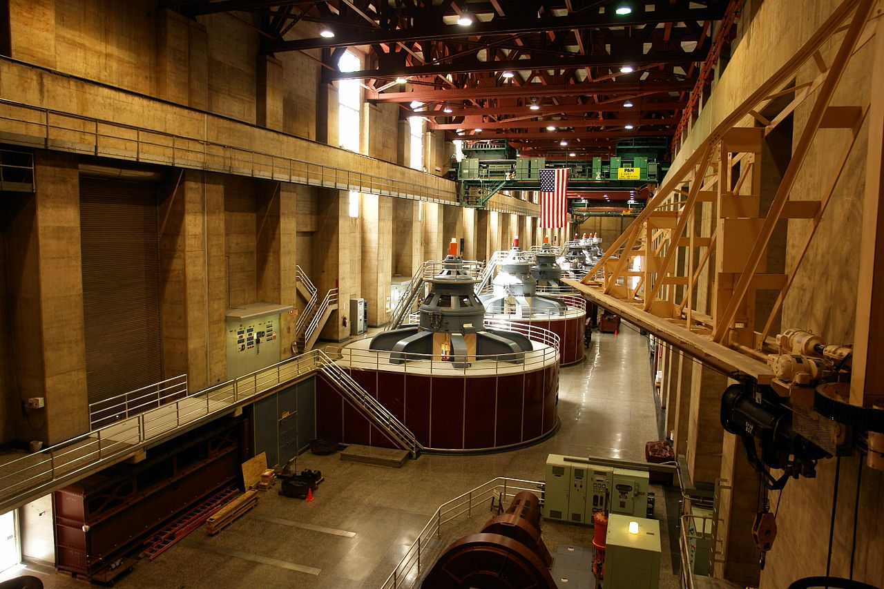 File Generators Inside Hoover Dam  The Tour  3467682551