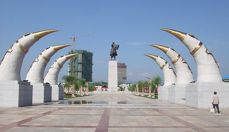 File:GenghisKhanMonument.jpg