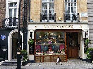 Geo. F. Trumper - Geo. F. Trumper in Curzon Street.