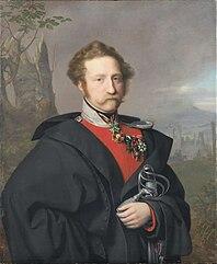 Portrait of Georg Kasimir Erbgraf zu Isenburg-Philippseich