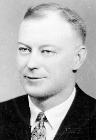 Saskatchewan general election, 1938 - Image: George Hara Williams in 1944