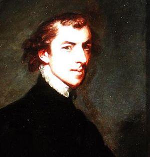 George Huddesford - 1780 self portrait