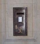 George V post box, India Buildings.jpg