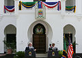 George W. Bush and Jakaya Kikwete at the State House.jpg