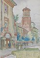 Georges Castex Porte de l'ancienne école des beaux-Arts Musée des Augustins 496185.jpg