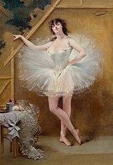 Portrait of the dancer Virginia Zucchi