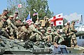 Georgian and US soldiers - Noble Partner 2017.jpg