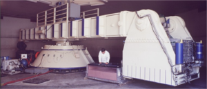 Geotechnical centrifuge modeling - Image: Geotechnical centrifuge at the University of California, Davis