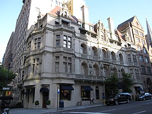 Ralph Lauren Corporation - The Ralph Lauren flagship store occupying the Rhinelander Mansion on Madison Avenue in New York City