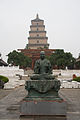 Giant Wild Goose Pagoda, Xi'an, China - 006.jpg