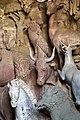 Giardino di castello, grotta degli animali o del diluvio, vasca di dx 03 dromedario e toro di antonio lorenzi, francesco ferrucci del tadda e altri, 1555-57 ca.jpg