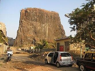 Gilbert Hill - Gilbert Hill, a monolith column of black basalt