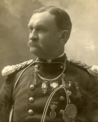 Erasmus Corwin Gilbreath - Last formal image taken of Maj. Gilbreath, 1897-1898