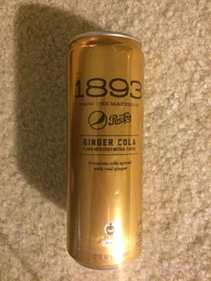 1893 from the makers of Pepsi-Cola