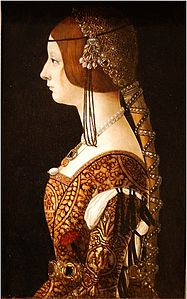 Giovanni Ambrogio de Predis - Blanca Maria Sforza (c. 1493, National Gallery of Art).jpg