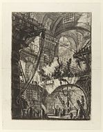 Giovanni Battista Piranesi - Le Carceri d'Invenzione - Second Edition - 1761 - 06 - The Smoking Fire.jpg