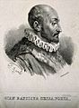 Giovanni Battista della Porta. Lithograph by L. Aureli after Wellcome V0004748.jpg