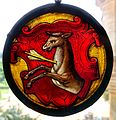 Glass roundel - Waddesdon Manor - Buckinghamshire, England - DSC07806.jpg