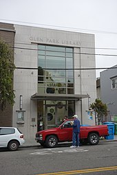 Exterior of the Glen Park Branch Library