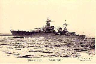 French cruiser <i>Gloire</i> (1935) cruiser