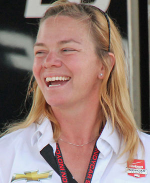 Sarah Fisher - Fisher at the 2015 GoPro Grand Prix of Sonoma