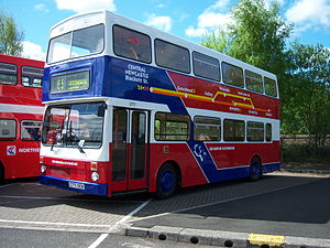 Go-Ahead Group - Preserved Go North East MCW Metrobus