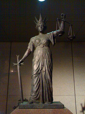 Themis - Image: Goddess of justice