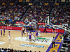 Going for a hoop, the Kings shooting - Sydney Entertainment Centre.jpg