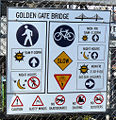 Golden Gate Bridge Hinweisschild.jpg