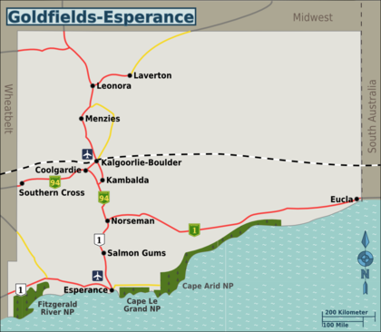 Goldfields Esperance Travel Guide At Wikivoyage