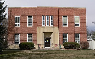 Gosper County Courthouse - Image: Gosper County courthouse from S