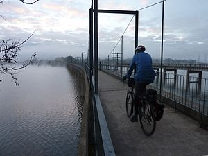 Great Victorian Rail Trail - Image: Goulburn River High Country Rail Trail bridge at Bonnie Doon